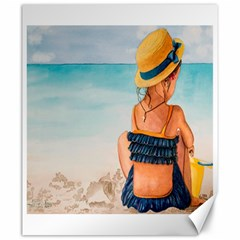 A Day At The Beach Canvas 20  X 24  (unframed) by TonyaButcher