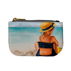 A Day At The Beach Coin Change Purse by TonyaButcher