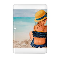 A Day At The Beach Samsung Galaxy Tab 2 (10 1 ) P5100 Hardshell Case  by TonyaButcher