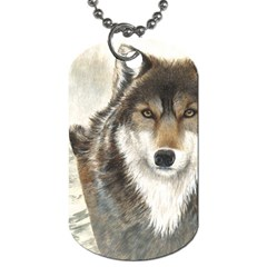Hunter Dog Tag (two Sided)  by TonyaButcher