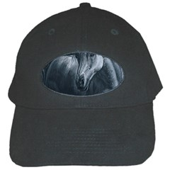 Equine Grace  Black Baseball Cap