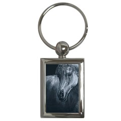 Equine Grace  Key Chain (rectangle) by TonyaButcher