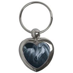 Equine Grace  Key Chain (heart) by TonyaButcher
