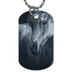 Equine Grace  Dog Tag (two Sided)  by TonyaButcher