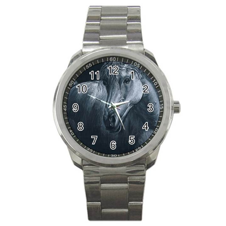 Equine Grace  Sport Metal Watch