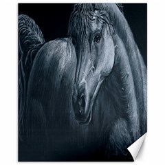 Equine Grace  Canvas 11  X 14  (unframed) by TonyaButcher