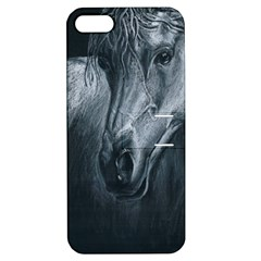 Equine Grace  Apple Iphone 5 Hardshell Case With Stand by TonyaButcher