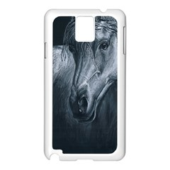 Equine Grace  Samsung Galaxy Note 3 N9005 Case (white) by TonyaButcher