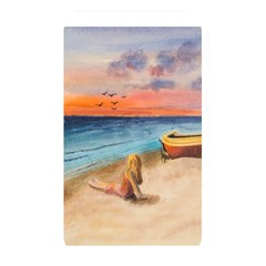 Alone On Sunset Beach Memory Card Reader (rectangular) by TonyaButcher