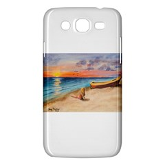 Alone On Sunset Beach Samsung Galaxy Mega 5 8 I9152 Hardshell Case  by TonyaButcher