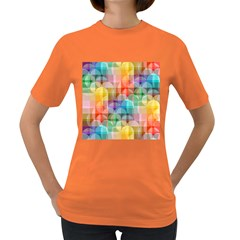 Circles Women s T Shirt (colored)