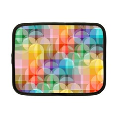 Circles Netbook Sleeve (small) by Lalita