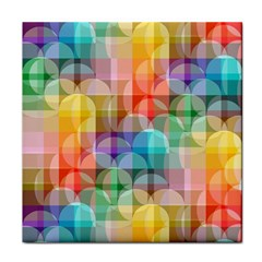 Circles Face Towel by Lalita