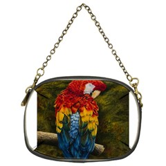 Preening Chain Purse (one Side)
