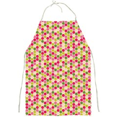 Pink Green Beehive Pattern Apron by Zandiepants