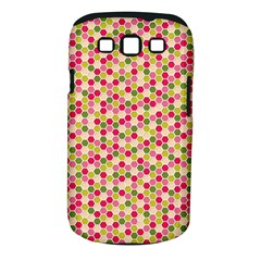 Pink Green Beehive Pattern Samsung Galaxy S Iii Classic Hardshell Case (pc+silicone) by Zandiepants