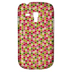 Pink Green Beehive Pattern Samsung Galaxy S3 Mini I8190 Hardshell Case by Zandiepants