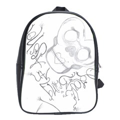 Beautiful Monster School Bag (xl) by Pannellgirlinc