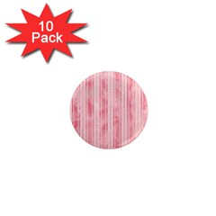 Pink Grunge 1  Mini Button Magnet (10 Pack) by StuffOrSomething