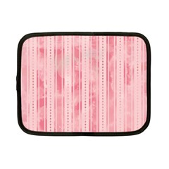Pink Grunge Netbook Sleeve (small) by StuffOrSomething