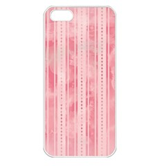 Pink Grunge Apple Iphone 5 Seamless Case (white) by StuffOrSomething