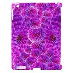 Purple Dahlias Apple Ipad 3/4 Hardshell Case (compatible With Smart Cover) by FunWithFibro