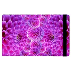 Purple Dahlias Apple Ipad 3/4 Flip Case by FunWithFibro
