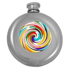 Galaxi Hip Flask (round)