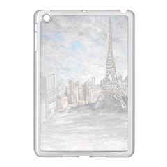 Eiffel Tower Paris Apple Ipad Mini Case (white)