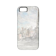 Eiffel Tower Paris Apple Iphone 5 Classic Hardshell Case (pc+silicone) by rokinronda