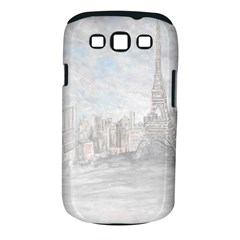 Eiffel Tower Paris Samsung Galaxy S Iii Classic Hardshell Case (pc+silicone) by rokinronda