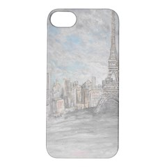 Eiffel Tower Paris Apple Iphone 5s Hardshell Case by rokinronda