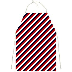 Diagonal Patriot Stripes Apron by StuffOrSomething