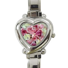 Tapestry Wedding Bouquet Heart Italian Charm Watch by Khoncepts