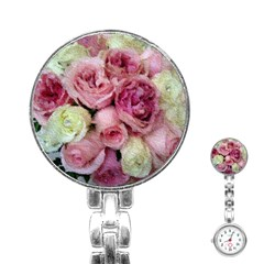 Tapestry Wedding Bouquet Stainless Steel Nurses Watch by Khoncepts