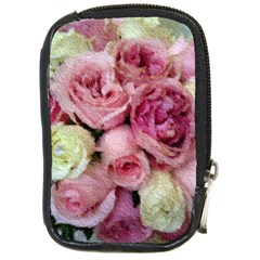 Tapestry Wedding Bouquet Compact Camera Leather Case