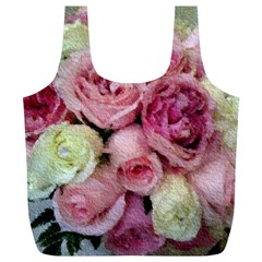 Tapestry Wedding Bouquet Full Print Recycle Bag (xl) by Khoncepts