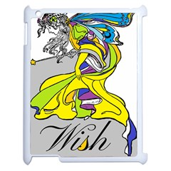 Faerie Wish Apple Ipad 2 Case (white) by StuffOrSomething