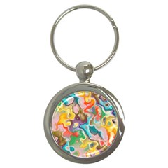 Marble Key Chain (round) by Lalita