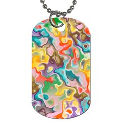 Marble Dog Tag (two Sided)  by Lalita