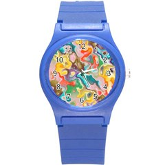 Marble Plastic Sport Watch (small) by Lalita
