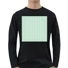 Hearts & Stripes Men s Long Sleeve T Shirt (dark Colored) by StuffOrSomething