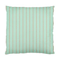 Hearts & Stripes Cushion Case (two Sided)