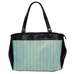 Hearts & Stripes Oversize Office Handbag (one Side)