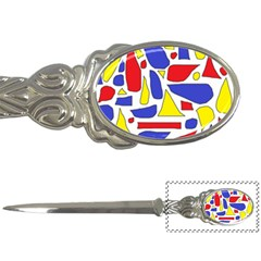 Silly Primaries Letter Opener by StuffOrSomething
