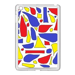 Silly Primaries Apple Ipad Mini Case (white) by StuffOrSomething