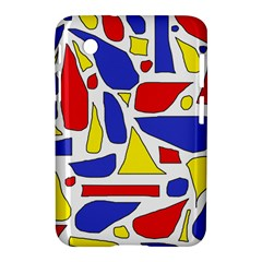 Silly Primaries Samsung Galaxy Tab 2 (7 ) P3100 Hardshell Case  by StuffOrSomething