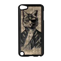 Harlequin Cat Apple Ipod Touch 5 Case (black) by StuffOrSomething