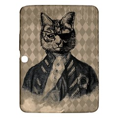 Harlequin Cat Samsung Galaxy Tab 3 (10 1 ) P5200 Hardshell Case  by StuffOrSomething