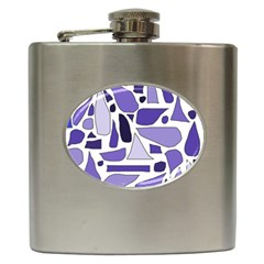 Silly Purples Hip Flask by FunWithFibro